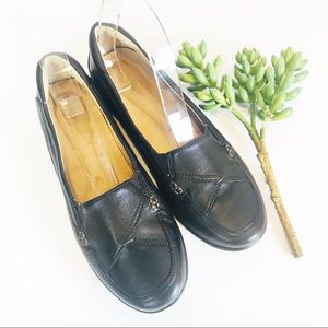 Naturalizer Brown Leather Loafers 9.5M